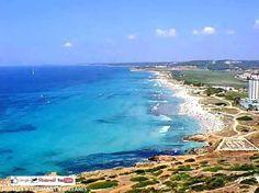 """Hoy pasamos el día en """"Son Bou"""".  La playa más grande de MENORCA !  http://www.hoteles-y-turismo-en-baleares.com/"""