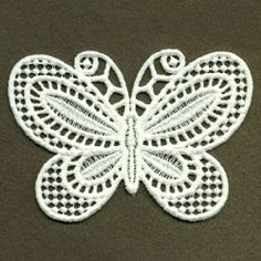 FSL Decorative Butterfly 6 - 4x4 | What's New | Machine Embroidery Designs | SWAKembroidery.com Ace Points Embroidery