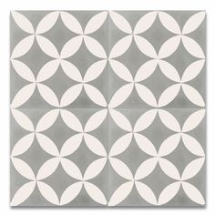 The Amlo is a contemporary cement tile, the variety of colors from classic white to soft gray give your space an elegant touch. This style of cement tile is suitable for outdoor and indoor use. Floor Patterns, Wall Patterns, Mosaic Tiles Backsplash, Kitchen Backsplash, Cement Tiles, Backsplash Ideas, Wall Tiles, Shower Floor, Tile Floor