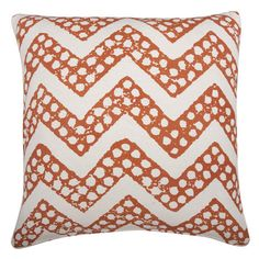 I pinned this Thomas Paul Chevron Pillow from the 6th Street Design School event at Joss and Main!