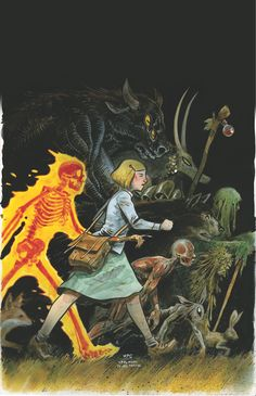 Harrow County, new horror comic series from Dark Horse Comics...must read!