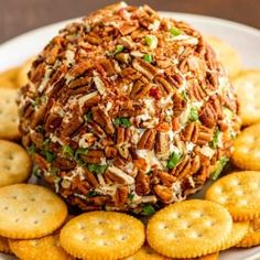 This retro pineapple cheese ball is full of sweet and savory flavors like green onion, pineapple, red bell pepper, seasoned cream cheese, and chopped pecans. Best Appetizer Recipes, Appetizer Salads, Dip Recipes, Appetizers For Party, Cooking Recipes, Cream Recipes, Mississippi Sin Dip, Cream Cheese Dips, Cheddar Cheese