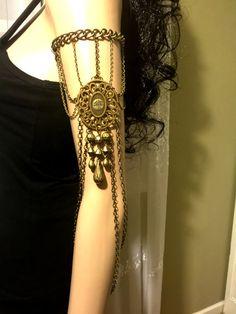 NEW - Armlet. Leglet. Arm Chain. Leg Chain. Upper Arm by MirelaS  Posted: https://www.etsy.com/shop/MirelaS