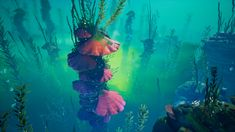 ArtStation - Simon Barle's submission on Beneath the Waves - Game Environment/Level Art