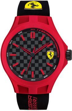 Mens watches at Hillier Jewellers. Top quality watches from Seiko, Tissot, Lacoste, Luminox, Hugo Boss & more. Racing F1, Ferrari Black, Robert Kubica, Ferrari Watch, Sporty Watch, Seiko Watches, Luxury Watches For Men, Beautiful Watches, Watches Online