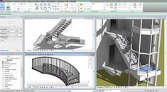 In this revit video tutorial, one can learn how to use Revit Architecture 2018 to generate stair through by components and by sketch. Also learn how to rectify stair, insert railing, use materials.