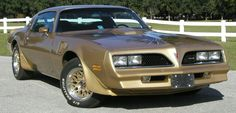 1978 Trans Am didn't really like the gold but I got mine from a collector who made all the ground effects for GM .sold it to me $1,900 on my 19 birthday.130 miles.sold it 2015 for $40,000 to another TA enthusiasts. 2200 miles 160MPH stock eat 32 gallons every time