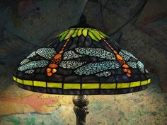 Stained Glass Floor Lamp - The colored glass floor lamp makes a beautiful home decoration. Stained Glass Floor Lamp, Stained Glass Patterns, Tall Floor Lamps, Peacock Colors, Tiffany, Unique Colors, Colored Glass, Glass Shades, Table Lamp