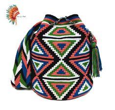 7 отметок «Нравится», 1 комментариев — กระเป๋า Wayuu จาก Colombia  (@oneofakind_wayuu) в Instagram: «❌SOLD ❌ ✨กระเป๋าวายู ไซส์ L Available พร้อมส่งค่ะ ✨ ✔️Wayuu Bag Large Size ✔️สูง 30 ซม. (+ - 2 ซม.)…»