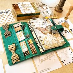 #gold #black #brown #white #aqua #filofaxmaldenaqua #maldenaqua #malden #personal #stickynotes #sticker #charm #planner #plannernerd #planneraddict #office #organizer #organization #agenda #kikki #kikkik #love #followme #journal #diary