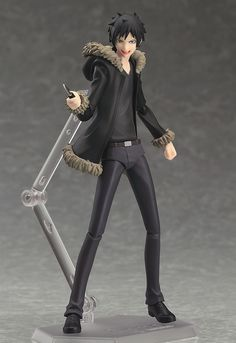 "Izaya Orihara Prepares To Troll Your Collection With Upcoming ""Durarara!!"" Figma"