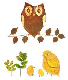 DIY Leaf Crafts for Kids