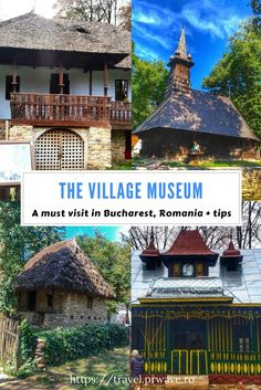 A must see in Bucharest: The Village Museum. This is one of the best attractions in Bucharest. It's an open-air museum, so it's perfect for all ages and preferences. Located in the Herastrau Park. This is a great museum which showcases the traditional Romanian rural life. The entry fee is just 15 lei (£3) per person.  Address: nr. 28-30, cod poştal 011347, Șoseaua Pavel Dimitrievici Kiseleff, București, Romania