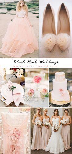 Romantic Blush Pink Wedding Ideas