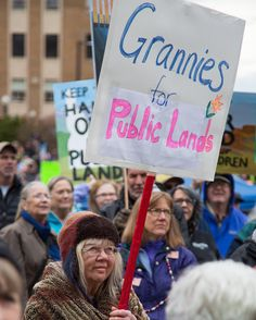 Everyone and their grandma came out to support public lands this weekend in Idaho! Idahoans gathered at the state capitol building to show their love for public land. We want to hear how youve taken a stand to protect the parks and open spaces that make our country greatlet us know in the comments! #keepitpublic #publiclands Photo by @glandberg #idaho