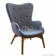 Grant Featherston Chair - Cashmere - Light Grey - Replica - Buy Grant Featherston Chair - Milan Direct