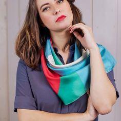 """Nouvelle collection, """"Un été à Twin Peaks"""", #shandorcollection #newcollection #twinpeaks #cherrypie #scarf #instagram"""