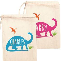 Hey, I found this really awesome Etsy listing at https://www.etsy.com/ca/listing/252408700/dinosaur-birthday-party-favor-bags