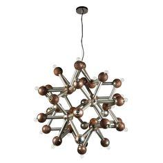 Molecular Chandelier by Kalmar | 1stdibs.com