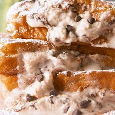 Holy cannoli. #brunch #breakfast #food #frenchtoast #easyrecipe