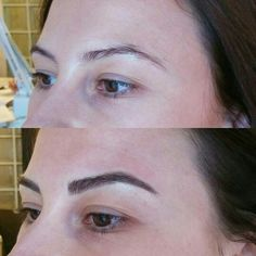 Before & After Eyebrow tattoo