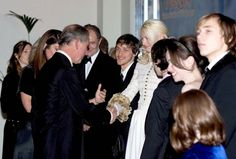 Georgie Henley meets Prince Charles and Camilla at the Narnia: LWW premiere
