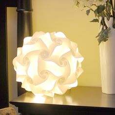 Lantern White 120 Piece Set, RECYCLE your Plastic bottles into Lantern Shades - Pattern & Directions