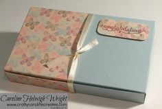 Falling in Love Wrapped Large Gift Box - Video Tutorial with Stampin' Up Products