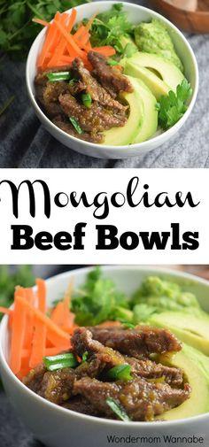These Mongolian Beef