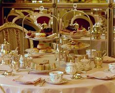 Afternoon tea at The Ritz and everything else quintessentially British!