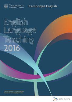 International 2016 ELT Catalogue  English language teaching materials from Cambridge University Press 2016