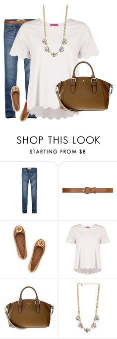 """""""I'm not single. I'm on reserve for the one who deserves my heart"""" by preppy-classy ❤ liked on Polyvore featuring Abercrombie & Fitch, Dorothy Perkins, Tory Burch, Kate Spade and DailyLook"""