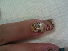 Tinker bell nail