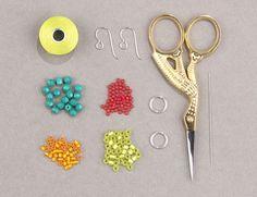 Looplicity Brick Stitch Earrings