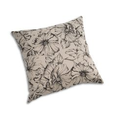Embroidered flower design for customer Interio.   www.lilipepper.ch www.beyond-textiles.com Embroidered Flowers, Flower Designs, Textiles, Throw Pillows, Homes, Toss Pillows, Decorative Pillows, Decor Pillows, Flower Line Drawings