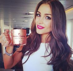 Today we toast to Olivia Culpo, as she enjoys her first Russian Standard  cocktail on her 21st birthday aboard the World Yacht. Happy Birthday Miss Universe!