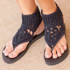 These gorgeous crochet gladiator sandals patterns are simple to make, won't cost much in supplies and will be the only shoes you'll need all summer long!