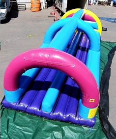 Bounce Water Slide Rental info@taylorrentalpartyplusct.com