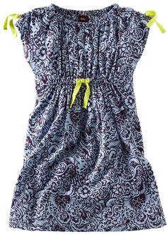 laut batik dress by tea collection