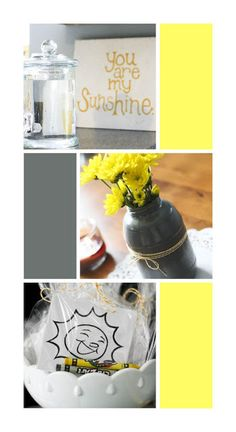 The House That Built Us: First Birthday Party Themes - You Are My Sunshine Party