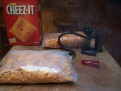 """Smoked Bread,Crackers and Snacks    11th Commandment: Thow shall not say """"I've nothing else..."""
