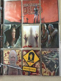 Walking Dead, Pocket Letters, Baseball Cards, The Walking Dead