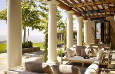 When it comes to finding the most pleasant space to unwind, a peaceful patio is unparalleled. From designs that provide a more traditional feel to those that are more rustic and blend in with the landscape, the patio design is an extension of the home and should not be overlooked. In these 8 patios, interior designers have proven the power of peace and the variability in which it can be created.