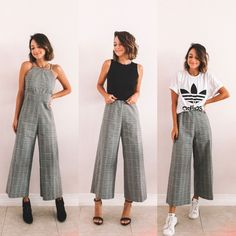 Street Style: The 30 Best Looks For Everyday - Outfit Ideas Cool Outfits, Summer Outfits, Casual Outfits, Fashion Outfits, Womens Fashion, Diy Clothes, Clothes For Women, Clothing Hacks, College Outfits