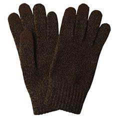 Touchscreen Gloves - Heather Brown