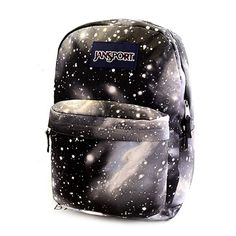 Galaxy Print Cool Backpack School Bag (£17) ❤ liked on Polyvore featuring bags, backpacks, accessories, backpack, black backpack, galaxy backpack, black rucksack, galaxy bag and planet bags