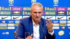 ONZE!FUTEBOL : Tite devolve confiança à seleção brasileira!