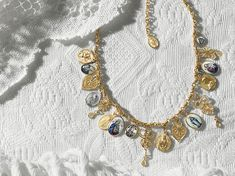Gold earrings, necklaces, rings with religious pendants - D&G Jewellery | Jewellery Dolce&Gabbana