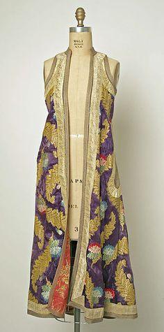 Coat, Date: 20th century, Culture: European, Eastern, Medium: silk
