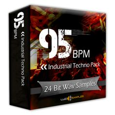 http://www.lucidsamples.com/industrial-samples-packs/100-95-bpm-industrial-techno-pack.html  95 BPM INDUSTRIAL TECHNO PACK